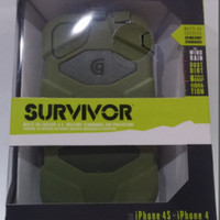 case griffin survivor for iphone 4/4s