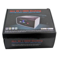 harga 2.5/3.5 SATA IDE USB2.0 HDD Docking CF SD XD MS TF Card Reader Tokopedia.com