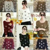 harga Grosir Sweater Rajut Cewek Fuffy Crop (Grosir Sweater Rajut murah) Tokopedia.com