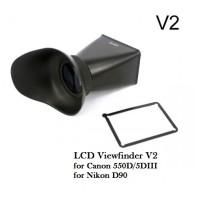 DSLR LCD Viewfinder V2 - Canon 550D/Nikon D90