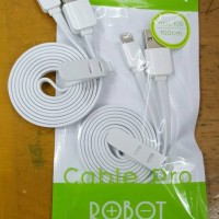 Kabel Vivan Robot RDL100 / Kabel Data 100CM For IPhone 5 & 6