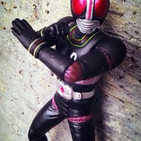 Action figure kamen rider black