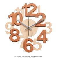 Jual NAIL YOUR ART - JAM DINDING UNIK - Numbers I Murah