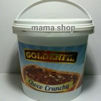 Selai Coklat Choco Crunchy Goldenfil Enak Lebih Pekat From Primarasa