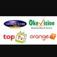 TV  Berlangganan toptv, indovision,okevision