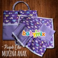 Babymix - Mukena Katun Jepang Anak Size 5-7 Tahun - Gamis Shalat Anak