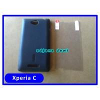 SONY XPERIA C S39H C2305 SILIKON SOFT CASE HITAM + ANTI GORES