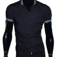 Harga p147 hem laki pria macho lengan pendek pabrik baju modif size   antitipu.com