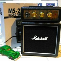 harga Marshall MS-2, Ampli Gitar Mini Tokopedia.com