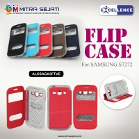 Samsung Galaxy Ace 3 Flip TPU View Excellence (ALCSAGA3FTVE)