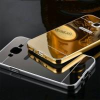 Hardcase Bumper Slide Mirror Samsung Galaxy E7