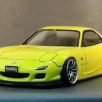 Body RC Drift Mazda Rx7 FD 35 Pandora PAB 122 1:10