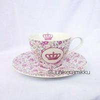 harga Teacup Saucer British Crown Tokopedia.com