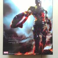 Play Arts Kai Captain America Marvel Universe Squaare Enix KW
