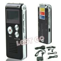USB Digital Voice Recorder 8GB + Mp3 Player