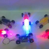 Mainan anak gantungan kunci senter mobil tamiya mini