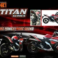 harga Knalpot Nob1 Titan Yamaha Scorpio Tokopedia.com