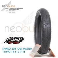 ban SHINKO 230 (F) 110/90 -18 (61V) Tourmaster / Touring / Kustom