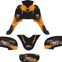 Modifikasi Stiker Honda SCOOPY FI factory racing Spec B