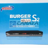 Matrix Burger HD S2 PVR Powervu Autoroll Receiver Parabola