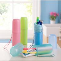 Tabung peralatan mandi portable Travel organizer bath tube - HBH028