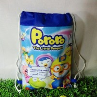 Tas Ultah/Ransel/serut Backpack/Souvenir/Goodie bag PORORO CHUGGINGTON