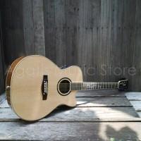 Gitar Akustik elektrik Lakewood Custom maple Fishman presys fender