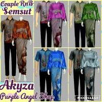 Couple Setelan Rok WIRU N Blouse Batik SEMI SUTERA Akyza