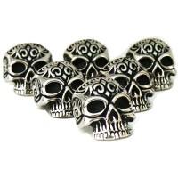 Skullring Titanium Grosir Cincin Tengkorak Man Jewelry Biker Ring Inca