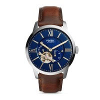Fossil ME3110 - Townsman Automatic Brown Leather Watch