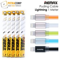 Kabel Remax Puding Colorful Lightning For Iphone 1M