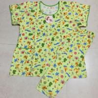 Baju Tidur Motif Animals Full Kancing / Baju Menyusui