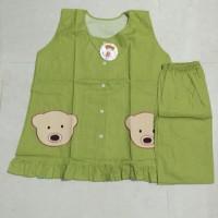 Baju Tidur Celana Pendek Full Kancing / Baju Menyusui