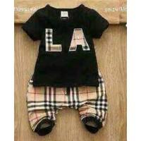 Burberry LA black set woven pant