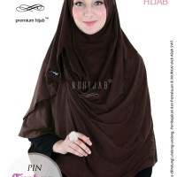 Jual Hijab Praktis Syari Jilbab 2 Style Pashmina Instan Nuhijab PIN Turban Murah