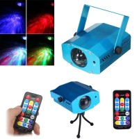 R&G DJ Disco LED Light Mini Projector Party Laser Stage Lighting Show