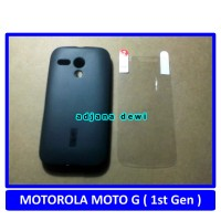harga Silikon Case Motorola Moto G Hitam Gratis Anti Gores / Screen Guard Tokopedia.com