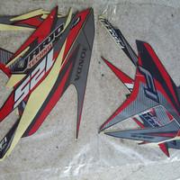 Striping/Sticker Motor Vario 125 Techno F1 2014 ISS Red