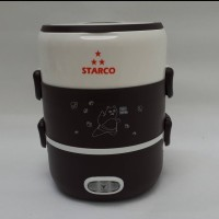 Starco SRC-202 Lunch Box Elektrik Multifungsi Dengan 3 Layer