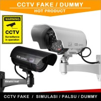 CCTV Palsu / Dummy / Fake / Replika  Kamera Security Simulasi OUTDOOR