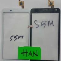 Touchscreen Advan S5m / Star 5 + Ic Ori B / W