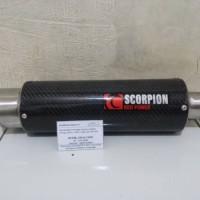 Knalpot Racing SCORPION FULL KARBON KEVLAR ASLI | | DSL MUFFLER