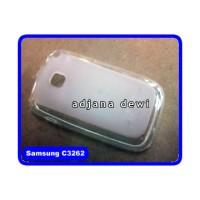 Silikon Case Samsung Champ Neo Duos C3262 Bening Transparan