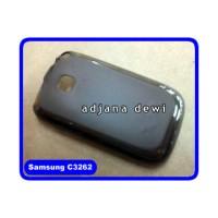 Silikon Case Samsung Champ Neo Duos C3262 Hitam Transparan