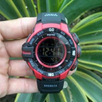 Jam Tangan Digitec Original DG 2070T Black Red