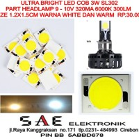 ULTRA BRIGHT LED COB SPARE PART HEADLAMP LAMPU UTAMA MOBIL/MOTOR