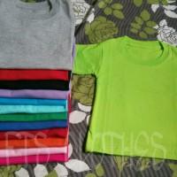 Jual Kaos Polos Anak 0-6 tahun Murah