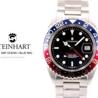"STEINHART ""GMT-OCEAN 1 BLUE RED"""