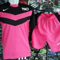 harga kostum Futsal/bola,sport,olahraga,setelan kaos, Nike T90 Line Pink Tokopedia.com
