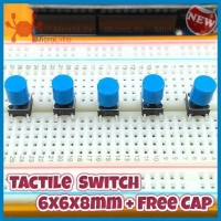 Tactile Switch Push Button 6x6x8mm